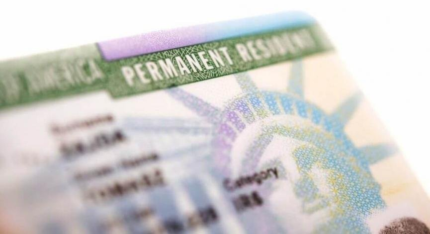 USCIS Form I-551, Permanent Resident Card